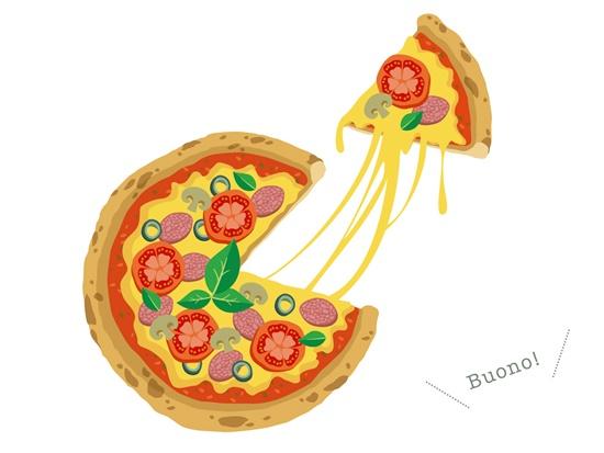 あきる野KAI's BALのピザ